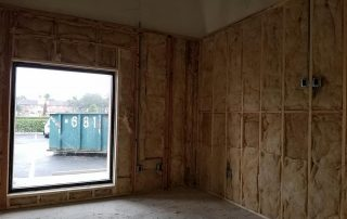New Walls with Exposed Insulation